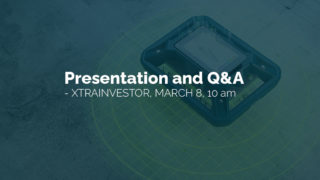 Live presentation and Q&A at Xtrainvestor